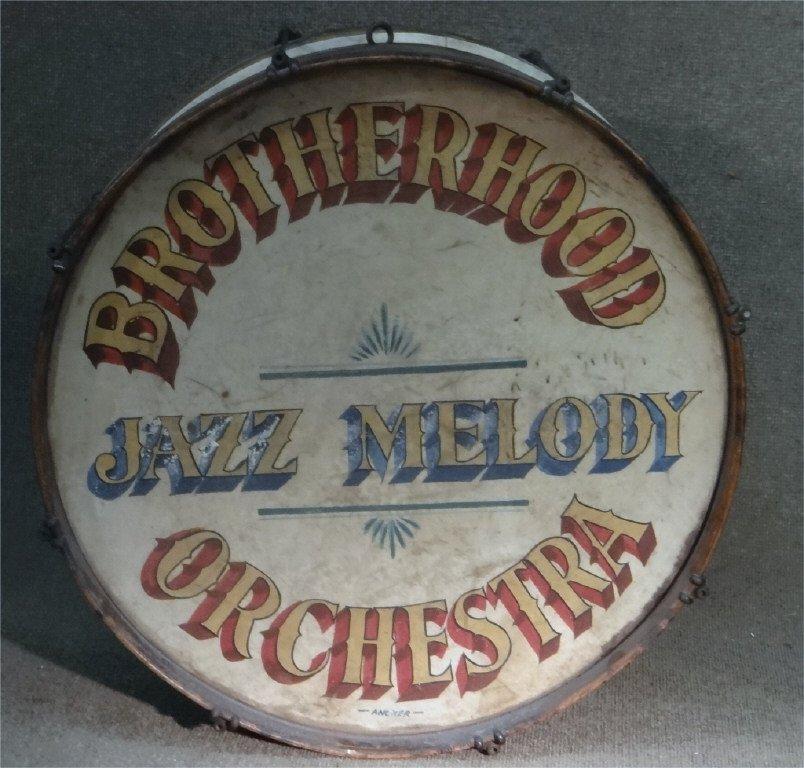 BROTHERHOOD JAZZ MELODY ORCHESTRA DRUM