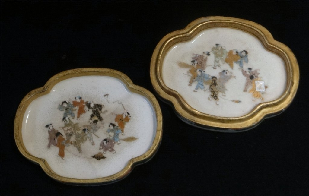 2 ORIENTAL PORCELAIN COVERED BOXES - 4