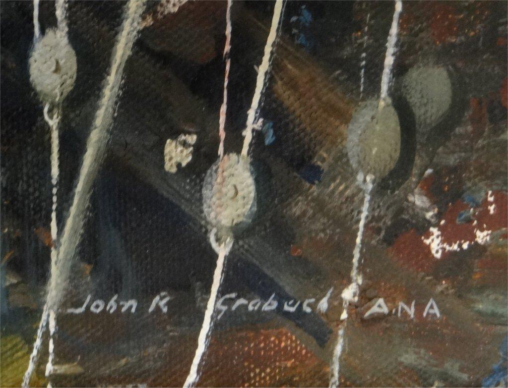 "O/C ""GLOUCESTER FISHING BOAT"" SGND JOHN R. GRABACH - 3"