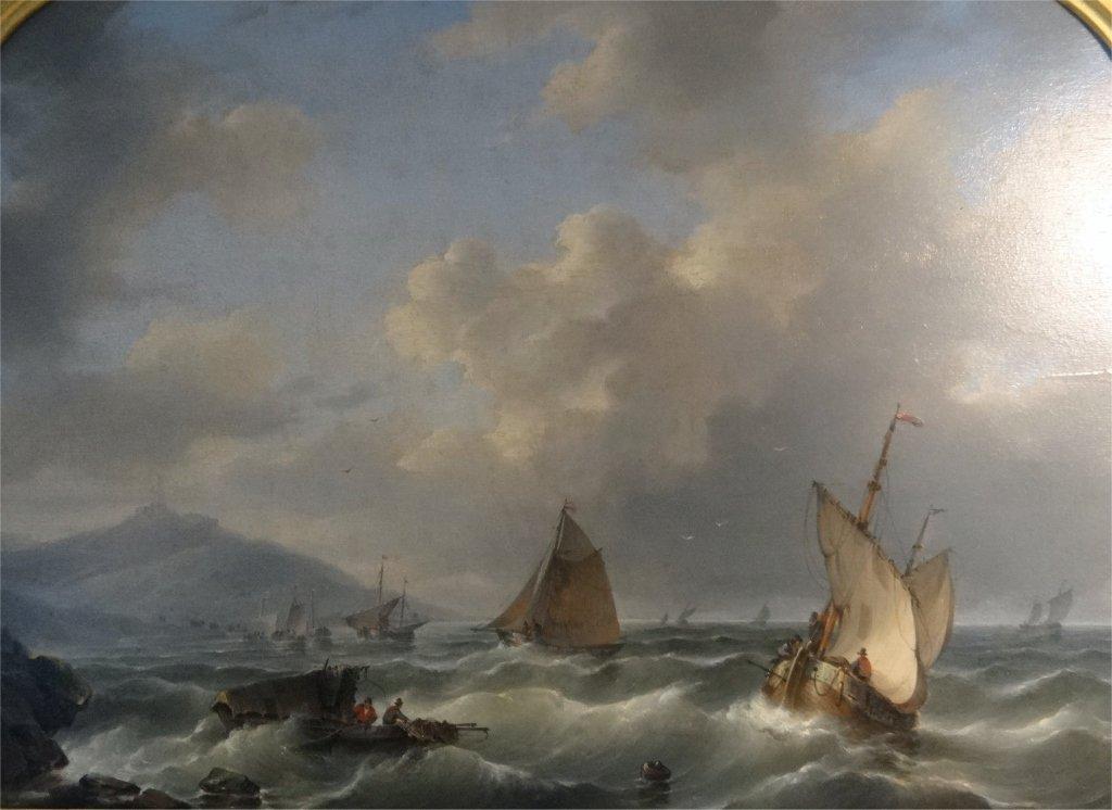 "O/P ""TUMULTUOUS SEAS"" SGND D. HENDRICKS-1804-1857 - 3"
