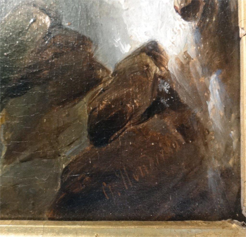 "O/P ""TUMULTUOUS SEAS"" SGND D. HENDRICKS-1804-1857 - 4"