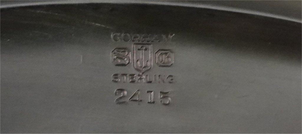 5 PC. GORHAM STERLING SILVER COFFE & TEA SET - 7
