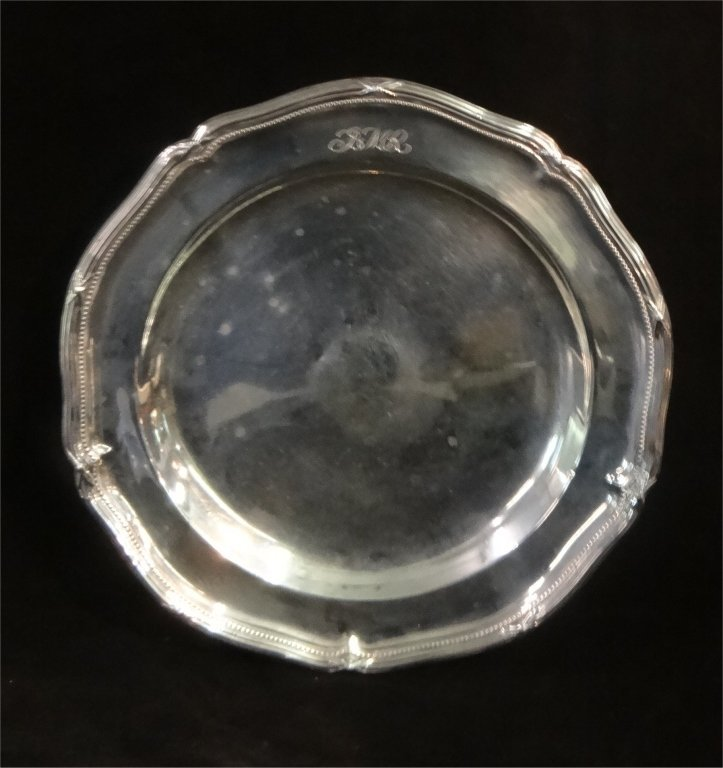 NY STERLINGG SILVER PLATE,GORHAM SUGAR & PORRINGER - 2
