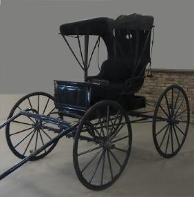 FULLY RESTORED ANTIQUE HORSE DRAWN DOCTOR'S BUGGY
