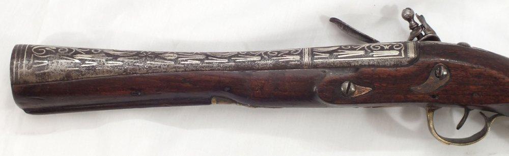 104: RARE OTTOMAN BLUNDERBUSS ANTIQUE GUN - 2