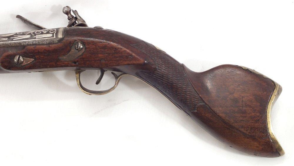 104: RARE OTTOMAN BLUNDERBUSS ANTIQUE GUN - 3