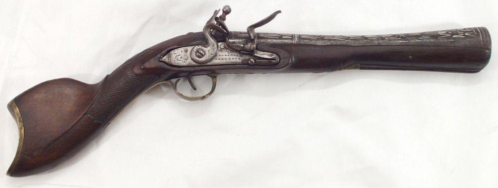 104: RARE OTTOMAN BLUNDERBUSS ANTIQUE GUN - 4