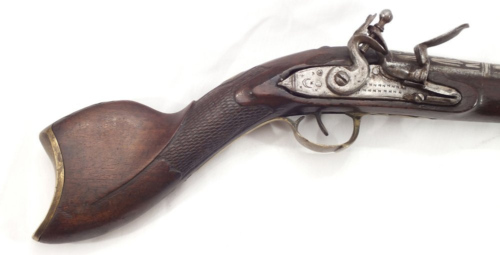 104: RARE OTTOMAN BLUNDERBUSS ANTIQUE GUN - 5