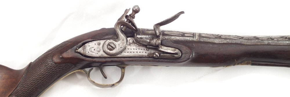 104: RARE OTTOMAN BLUNDERBUSS ANTIQUE GUN - 6