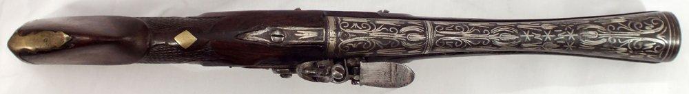 104: RARE OTTOMAN BLUNDERBUSS ANTIQUE GUN - 8