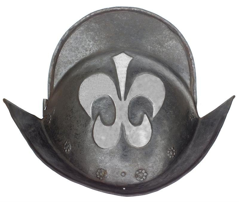7: A GERMAN MORION C.1580-1600 ANTIQUE ARMOUR