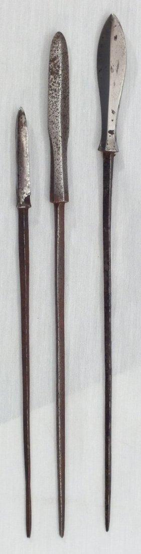 98: ANTIQUE JAPANESE SAMURAI SWORD ARROWHEADS