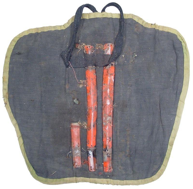 4: JAPANESE SAMURAI ARMOR LEFT SUNEATE