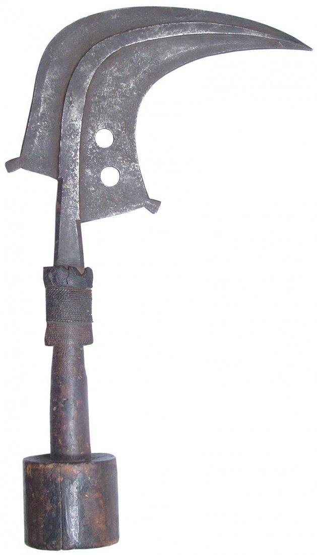 12: MANGBETU SICKLE KNIFE