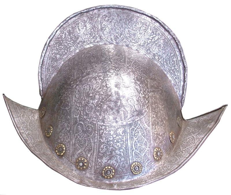 135: A GERMAN MORION C.1570-1600 AD