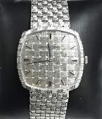 Vacheron & Constantin Mens 18K White Gold Woven