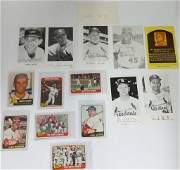St Louis Cardinals 1960s Players Autograph Baseball MLB