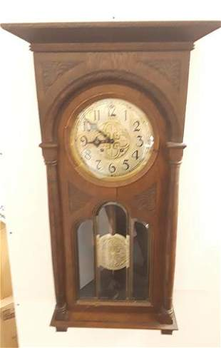 Large Chiming Wall Clock with Muliple Chimes German