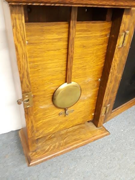 Chelsea Clock Co. Boston Wall Clock Honey Maple Case - 10