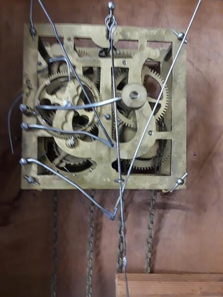 Antique German Black Forest Antique Cuckoo Clock Wood - 3