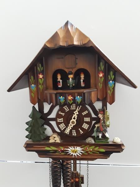 Vintage German Cuckoo Clock Bavarian Black Forest Clock