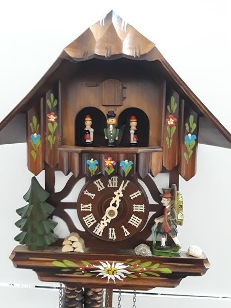 Vintage German Cuckoo Clock Bavarian Black Forest Clock - 4