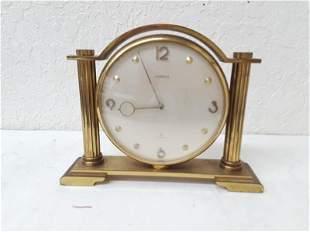 Art Deco Double Sided Clock Desk 8 Day Semca