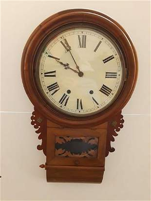 Wall Clock Gingerbread Flower Embellishments