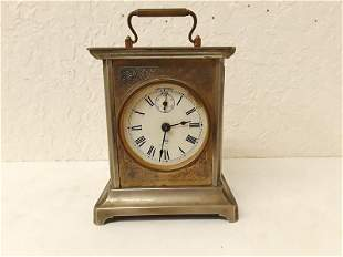 Carriage Clock Seth Thomas USA Excellent Case