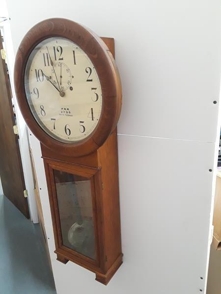 Seth Thomas Penn Railroad Lobby Clock Regulator PRR - 5