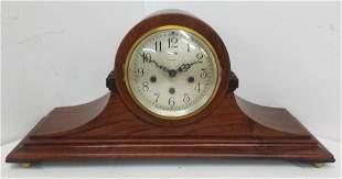 Large Vintage Ansonia Mantle Shelf Wood Clock