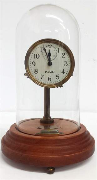Rare Barr Poole Musical Electric Mantle Clock with Dome