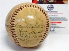 1952 NY Yankees 21 Signature Signed Baseball w COA