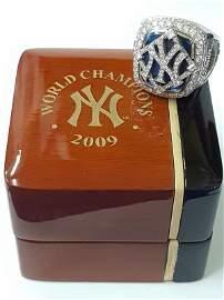 Minty 2009 NY Yankees Baseball MLB Diamond Ring