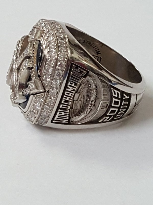 Minty 2009 NY Yankees Baseball MLB Diamond Ring - 3