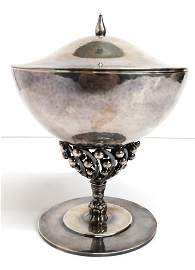 Georg Jensen Sterling Silver Johan Rohde Compote Dish