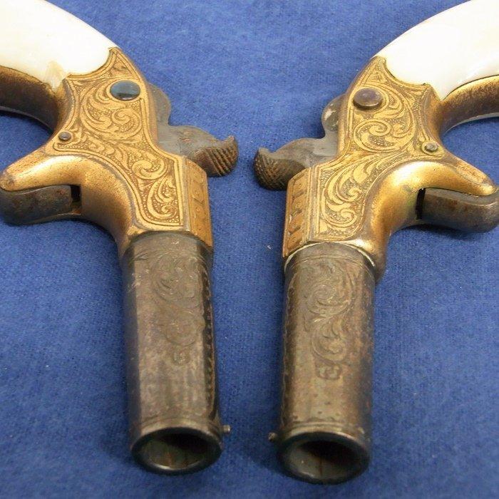 Historic Remington Derringer Guns LA History Provenance - 6