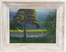 Florida Highwaymen Isaac Knight Painting