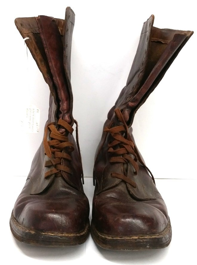 Original Antique WWI US Army Officers Boots