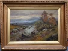 Alfred Fontville A.F. de Breanski Landscape Painting