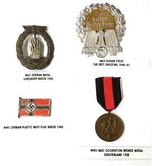 Vintage Military Medals, Badges & Patches for Sale & Antique