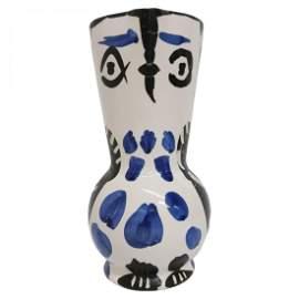 Rare Pablo Picasso Pottery Owl Pitcher Madoura 1950s