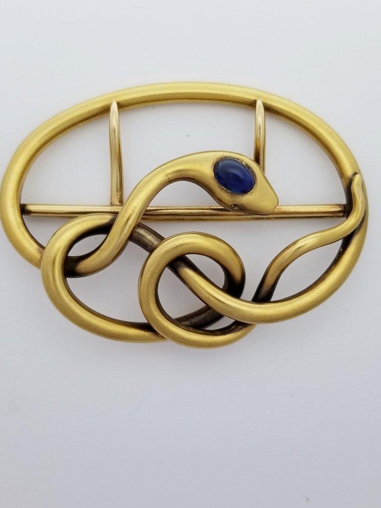 Massive 18k Gold 36.9 Gram Antique Victorian Arts Craft
