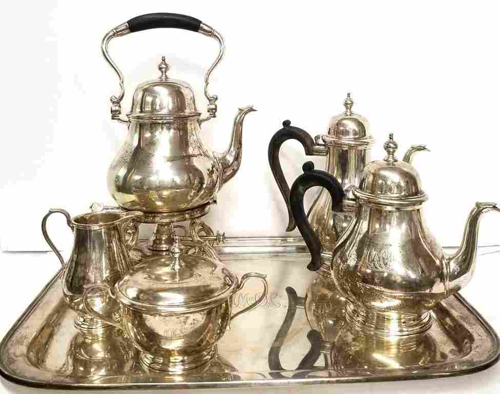 188.69ozt Tiffany & Co Sterling Silver Tea Coffee 6pc S