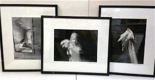 Richard Rick Lintzenich Female Portrait Photo Lot Of 3