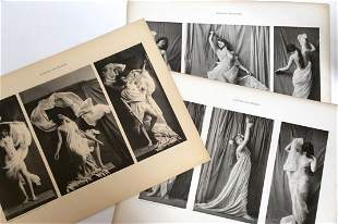 Collection Of 3 Shenk-Draperies Seminude Photo Prints