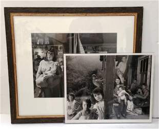 2 Shelby Lee Adams BW Photos Home Funeral Leddie