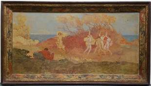 Yves d'Escars Estate Oil Painting 6 of 7