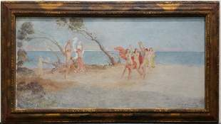 Yves d'Escars Estate Oil Painting 7 of 7