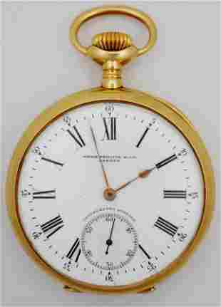 Patek Philippe Chronometro Gondolo 18k Gold Watch